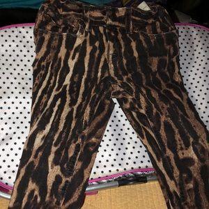 Ralph Lauren Toddler Girl Cheetah Jeans 2-2T